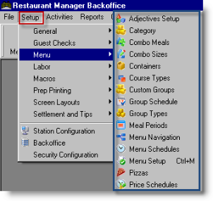 backoffice management functions