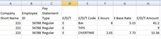 Export Formats