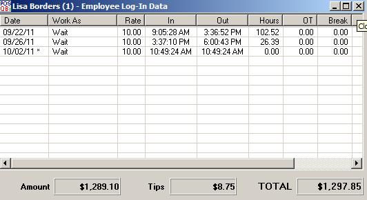 post view login data